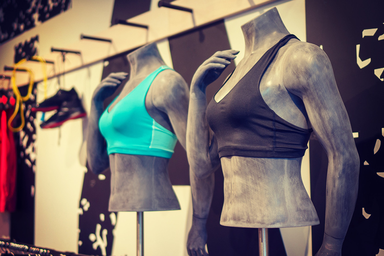 A sports bra could make nursing shifts more comfortable.