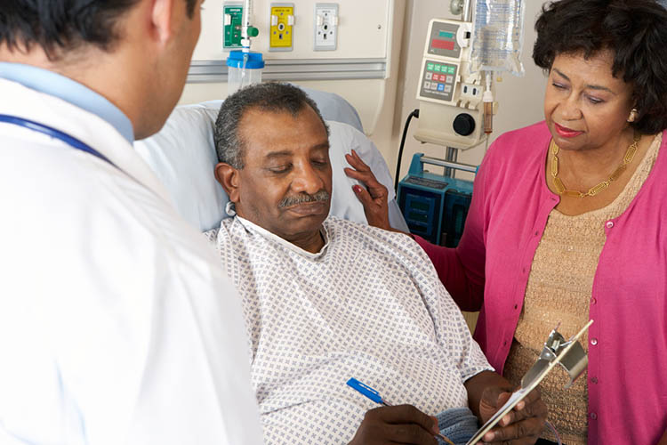 Patient providing consent | Image