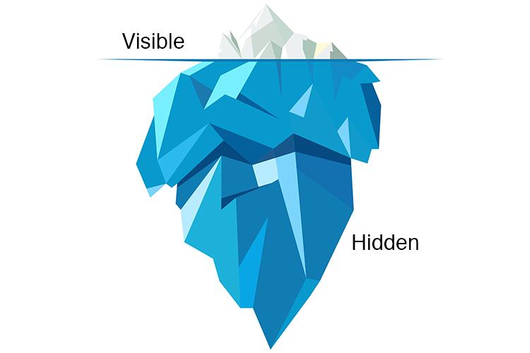 Iceberg concept | Image
