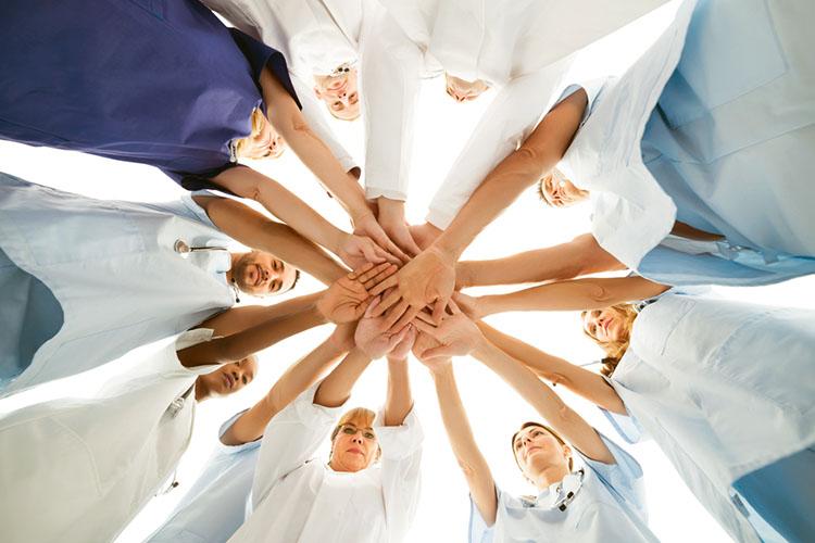 The Central Importance of Nursing - Ausmed nurse hands in