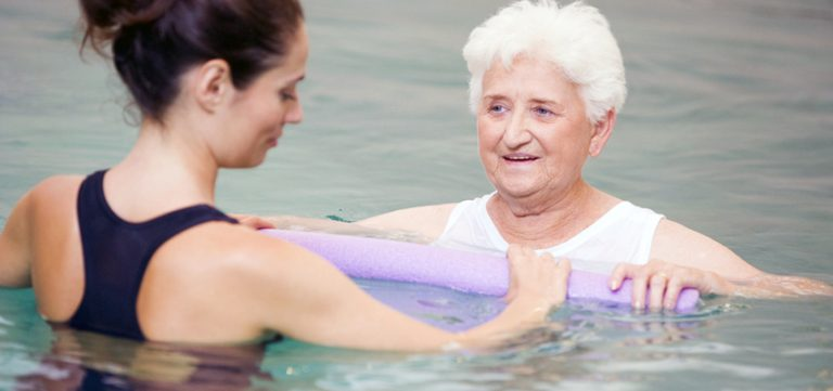 Image for Improving a Patient's Strength and Range of Motion with Aquatic Therapy