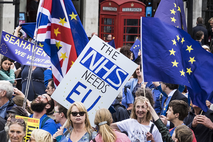 The Brexit of Healthcare Staff - Skilled-Worker Supply to Worsen?
